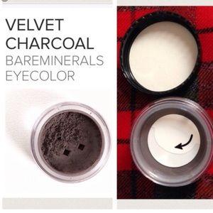 """Velvet Charcoal"" eyeshadow power"